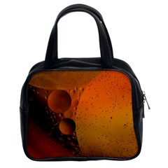 Abstraction Color Closeup The Rays Classic Handbags (2 Sides)