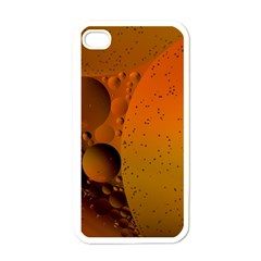 Abstraction Color Closeup The Rays Apple Iphone 4 Case (white)