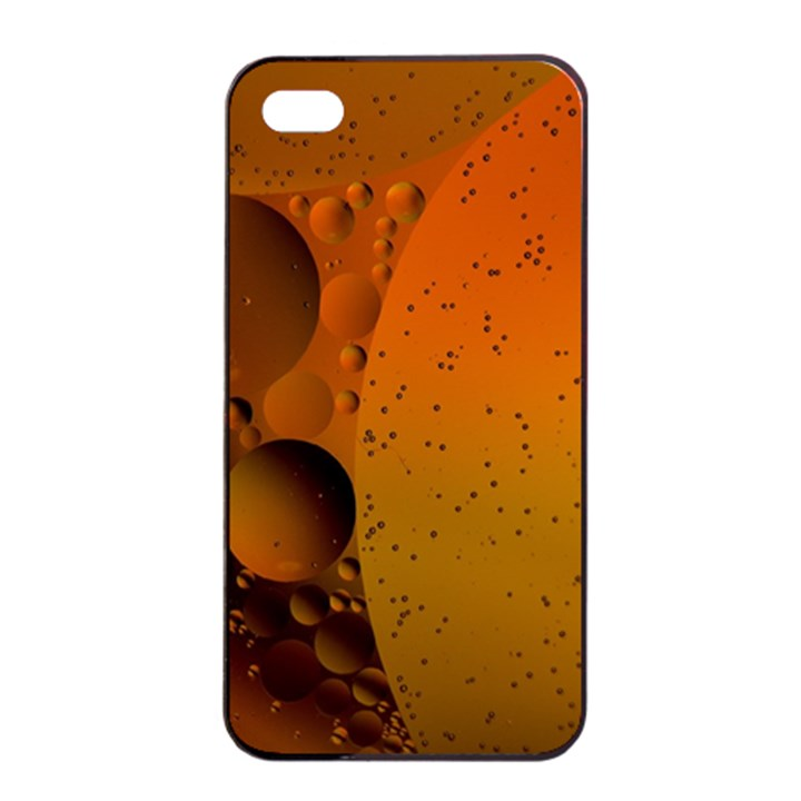 Abstraction Color Closeup The Rays Apple iPhone 4/4s Seamless Case (Black)