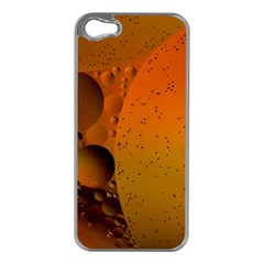 Abstraction Color Closeup The Rays Apple Iphone 5 Case (silver)