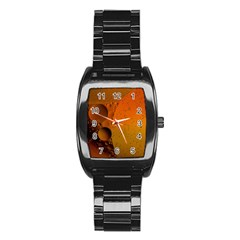 Abstraction Color Closeup The Rays Stainless Steel Barrel Watch
