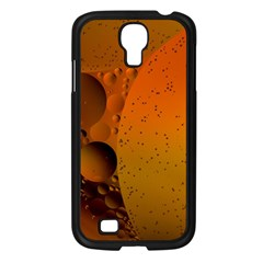Abstraction Color Closeup The Rays Samsung Galaxy S4 I9500/ I9505 Case (Black)