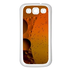 Abstraction Color Closeup The Rays Samsung Galaxy S3 Back Case (white)
