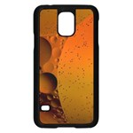 Abstraction Color Closeup The Rays Samsung Galaxy S5 Case (Black) Front