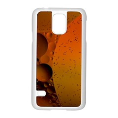 Abstraction Color Closeup The Rays Samsung Galaxy S5 Case (White)
