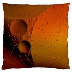 Abstraction Color Closeup The Rays Large Flano Cushion Case (one Side)