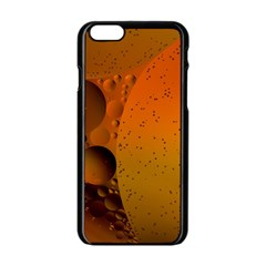 Abstraction Color Closeup The Rays Apple Iphone 6/6s Black Enamel Case