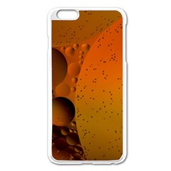 Abstraction Color Closeup The Rays Apple Iphone 6 Plus/6s Plus Enamel White Case