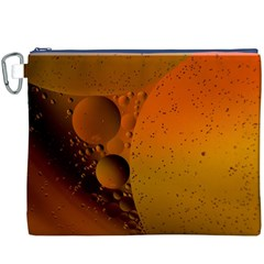 Abstraction Color Closeup The Rays Canvas Cosmetic Bag (XXXL)