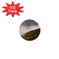 Agriculture Clouds Cropland 1  Mini Buttons (100 Pack)