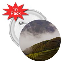 Agriculture Clouds Cropland 2 25  Buttons (10 Pack)