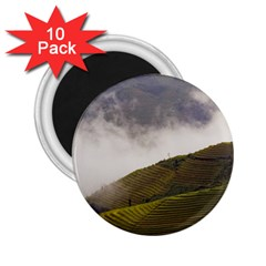 Agriculture Clouds Cropland 2 25  Magnets (10 Pack)