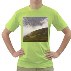 Agriculture Clouds Cropland Green T Shirt