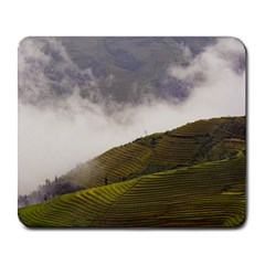 Agriculture Clouds Cropland Large Mousepads