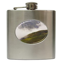 Agriculture Clouds Cropland Hip Flask (6 Oz)