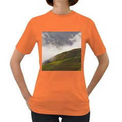 Agriculture Clouds Cropland Women s Dark T Shirt