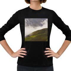 Agriculture Clouds Cropland Women s Long Sleeve Dark T Shirts