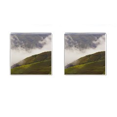 Agriculture Clouds Cropland Cufflinks (square)