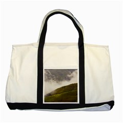 Agriculture Clouds Cropland Two Tone Tote Bag