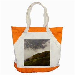 Agriculture Clouds Cropland Accent Tote Bag