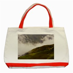 Agriculture Clouds Cropland Classic Tote Bag (red)