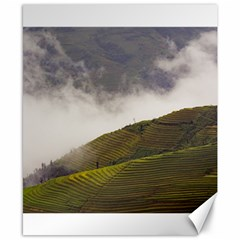 Agriculture Clouds Cropland Canvas 8  X 10
