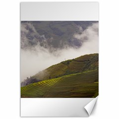 Agriculture Clouds Cropland Canvas 12  X 18