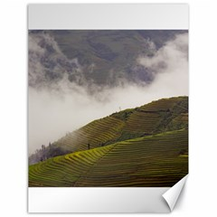 Agriculture Clouds Cropland Canvas 18  X 24