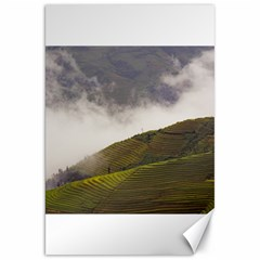 Agriculture Clouds Cropland Canvas 20  X 30