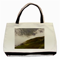 Agriculture Clouds Cropland Basic Tote Bag (Two Sides)