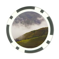 Agriculture Clouds Cropland Poker Chip Card Guard