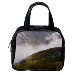 Agriculture Clouds Cropland Classic Handbags (one Side)