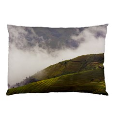 Agriculture Clouds Cropland Pillow Case