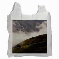 Agriculture Clouds Cropland Recycle Bag (two Side)