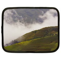 Agriculture Clouds Cropland Netbook Case (XL)