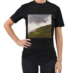 Agriculture Clouds Cropland Women s T Shirt (black)