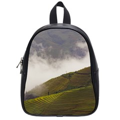 Agriculture Clouds Cropland School Bags (small)