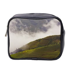 Agriculture Clouds Cropland Mini Toiletries Bag 2 Side