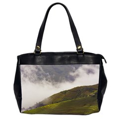 Agriculture Clouds Cropland Office Handbags (2 Sides)