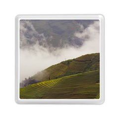 Agriculture Clouds Cropland Memory Card Reader (square)