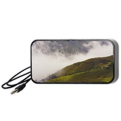 Agriculture Clouds Cropland Portable Speaker (black)