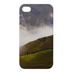 Agriculture Clouds Cropland Apple Iphone 4/4s Premium Hardshell Case