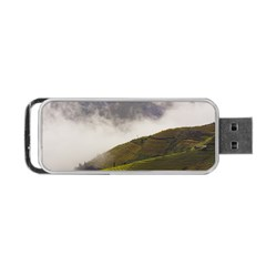 Agriculture Clouds Cropland Portable Usb Flash (two Sides)