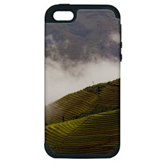 Agriculture Clouds Cropland Apple Iphone 5 Hardshell Case (pc+silicone)