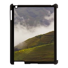 Agriculture Clouds Cropland Apple Ipad 3/4 Case (black)
