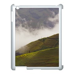Agriculture Clouds Cropland Apple Ipad 3/4 Case (white)