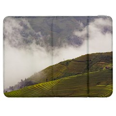 Agriculture Clouds Cropland Samsung Galaxy Tab 7  P1000 Flip Case