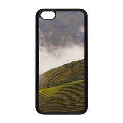 Agriculture Clouds Cropland Apple Iphone 5c Seamless Case (black)