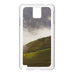 Agriculture Clouds Cropland Samsung Galaxy Note 3 N9005 Case (white)