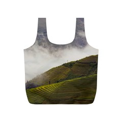 Agriculture Clouds Cropland Full Print Recycle Bags (s)